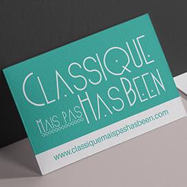 Classique mais pas has been